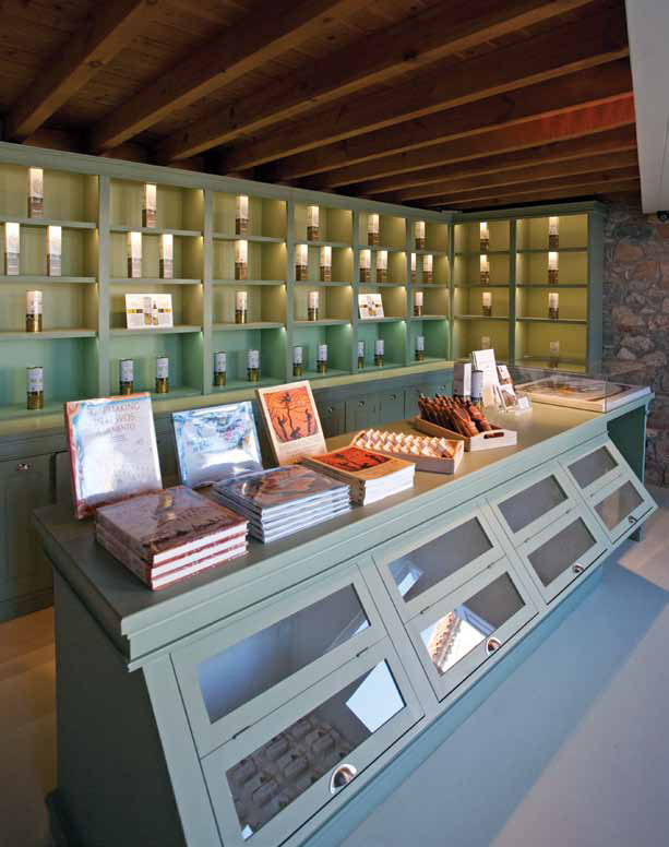 Olive Press Museum. Restored by Archipelagos. Lesvos, Greece. Photo Copyright Cathy Cunliffe