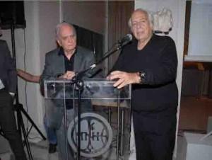 2013: Ν. Κούνδουρος- Λ. Παπαδόπουλος: Πρόεδρος και Αντιπρόεδρος  της Πολιτιστικής ''Εταιρείας Αρχιπέλαγος'', στην παρουσίαση  του Οδηγού του Μουσείου- Ελαιοτριβείου Βρανά